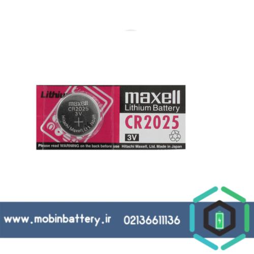 باتری CR2025 سکه ای مکسل