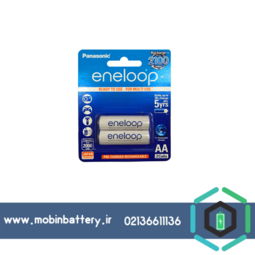 باتری قلمی قابل شارژ پاناسونیک مدل Eneloop JAPAN Techoilogy