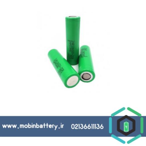 باتری لیتیوم یون 3.7v سایز 18650 2500mAh مارک Samsung