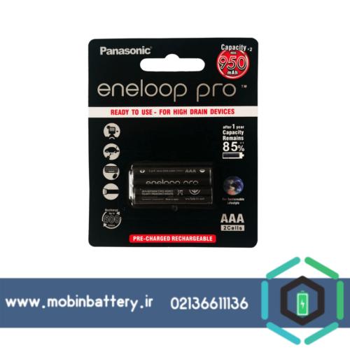 باتری نیم قلمی قابل شارژ پاناسونیک مدل Eneloop Pro