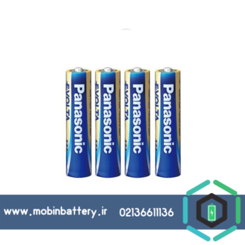 باتری نیم قلمی پاناسونیک مدل High-Tech Evolta Alkaline