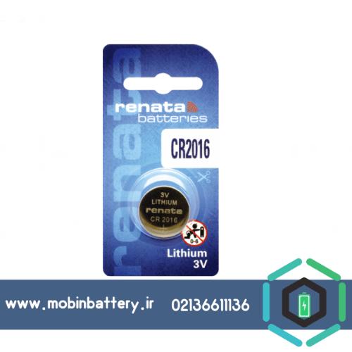باتری سکه ای رناتا CR2016