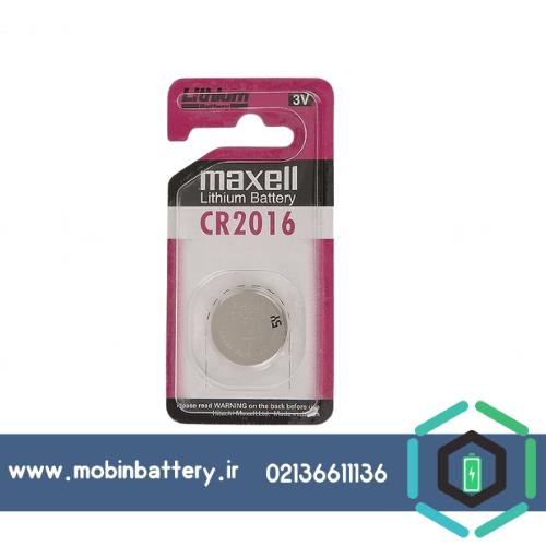 باتری CR2016 سکه ای مکسل