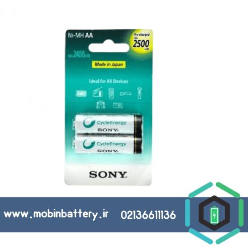 باتری قابل شارژ قلمی سونی مدل NH-AA-B2GN