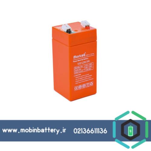 باتری موریسل 4 ولت 4.5 آمپر