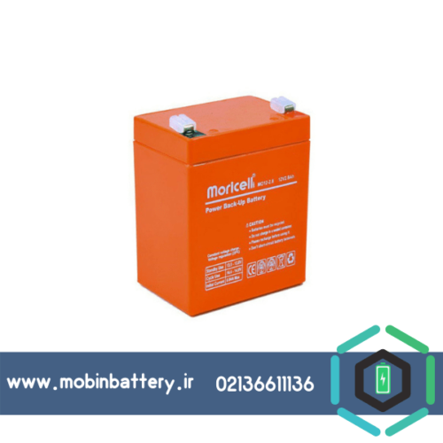 باتری خشک سیلد اسید 12 ولت 1.2 آمپر موریسل