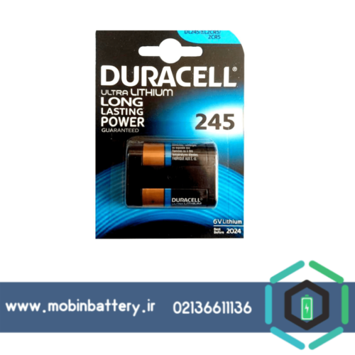باتری DURACELL-245-2CR5