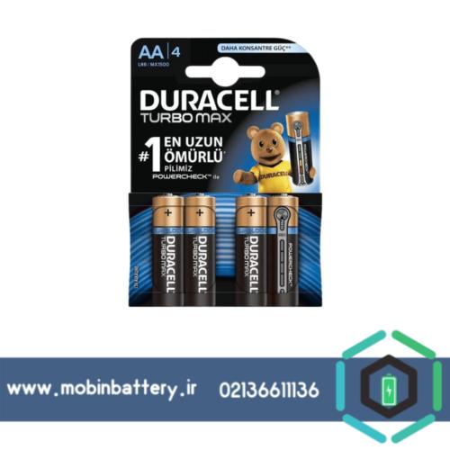 باتری DURACELL-AA-TURBO MAX
