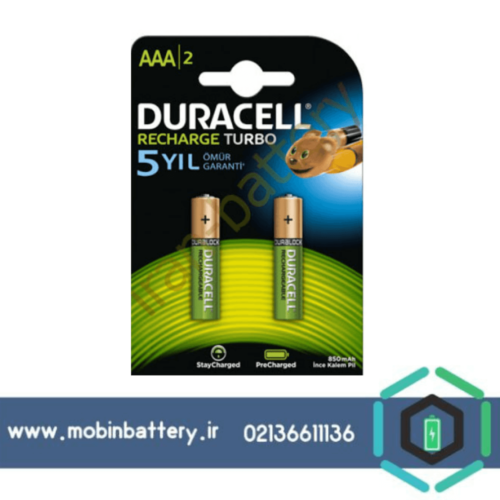 باتری DURACELL AAA 850MAH