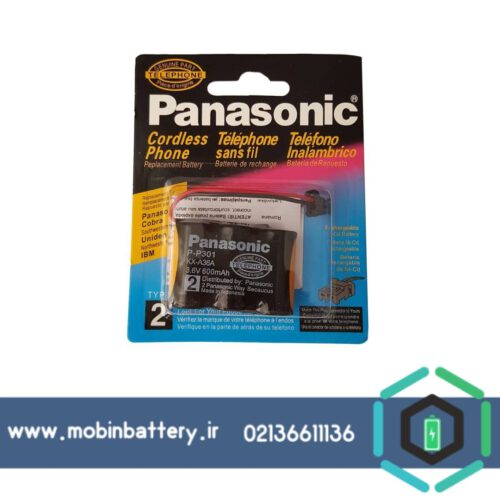 باتری تلفن بی سیم پاناسونیک مدل P-P301