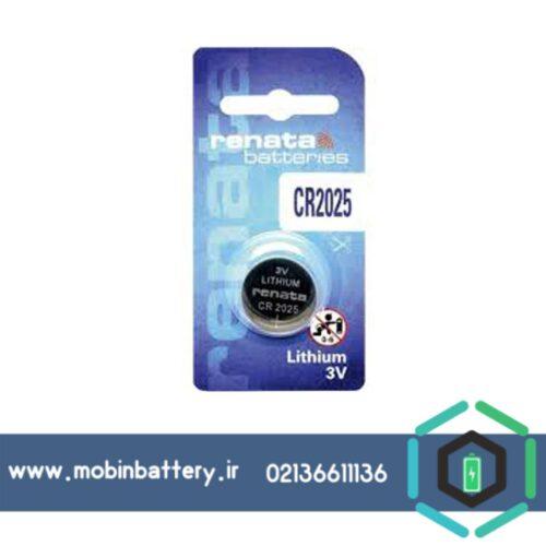 باتری سکه ای رناتا CR2025