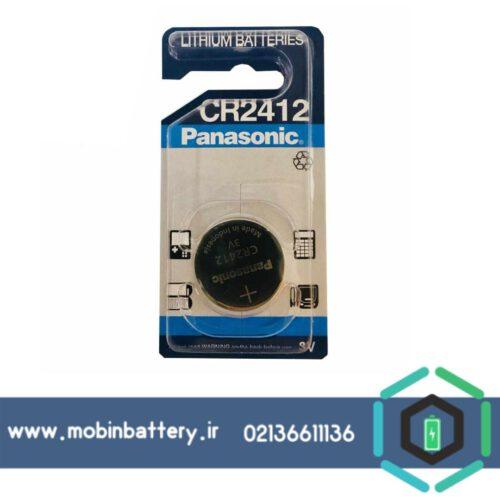 باتری سکه ای 3 ولتCR2412 پاناسونیک