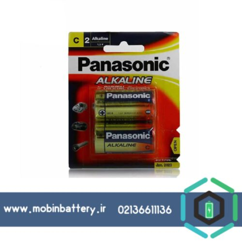 باتری متوسط پاناسونیک آلکالاین