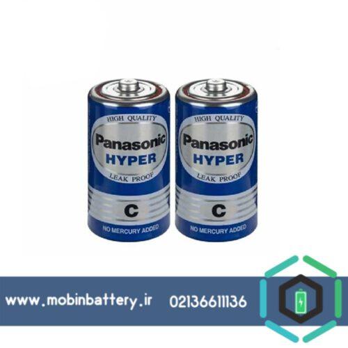 باتری متوسط پاناسونیک سایز C معمولی