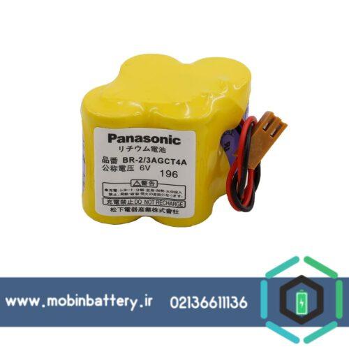 باتری پاناسونیک PLC لیتیوم 6 ولت