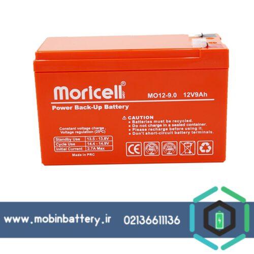 باتری 12ولت 9آمپر ups موریسل